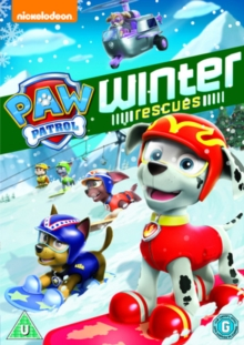 Paw Patrol: Winter Rescue, DVD