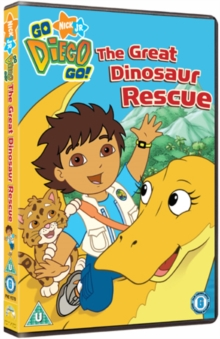 Go Diego Go!: Great Dinosaur Rescue, DVD