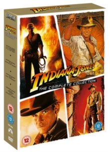 Indiana Jones: The Complete Collection, DVD