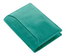 FILOFAX POCKET SLIM LOCKWOOD AQUA ORGANI,