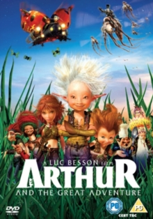 Arthur and the Great Adventure, Blu-ray