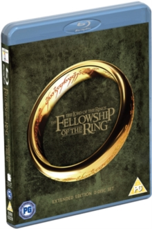 The Lord of the Rings: The Fellowship of the Ring - Extended Cut, Blu-ray