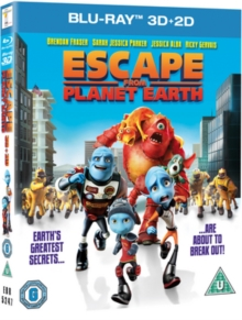 Escape from Planet Earth, Blu-ray