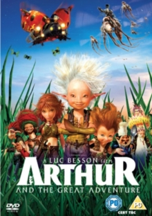 Arthur and the Great Adventure, DVD