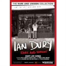 Ian Dury: Rare and Unseen, DVD
