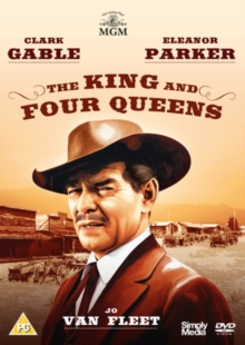 The King and Four Queens, DVD