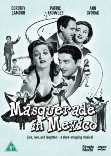 Masquerade in Mexico, DVD DVD