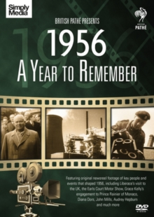A   Year to Remember: 1956, DVD