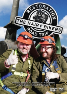 The Hairy Bikers' Restoration Road Trip, DVD