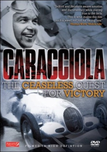 Caracciola - The Ceaseless Quest for Victory, DVD
