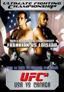 Ultimate Fighting Championship: 58 - USA Vs Canada, DVD  DVD