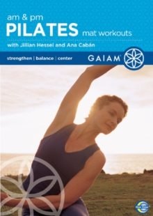Gaiam AM/PM Pilates Mat Workouts, DVD
