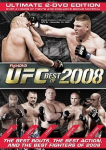 Ultimate Fighting Championship: Best of 2008, DVD