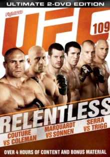 Ultimate Fighting Championship: 109 - Relentless, DVD  DVD