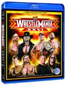 WWE: Wrestlemania 26, Blu-ray
