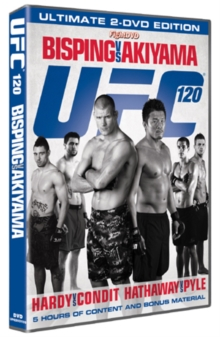 Ultimate Fighting Championship: 120 - Bisping Vs Akiyama, DVD
