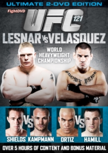 Ultimate Fighting Championship: 121 - Lesnar Vs Velasquez, DVD