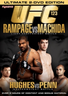 Ultimate Fighting Championship: 123 - Rampage Vs Machida, DVD