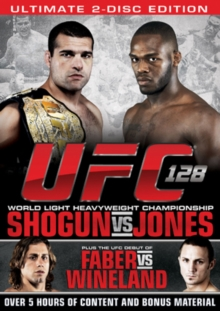 Ultimate Fighting Championship: 128 - Shogun Vs Jones, DVD