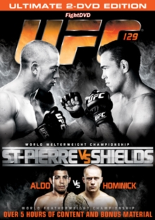 Ultimate Fighting Championship: 129 - St. Pierre Vs Shields, DVD
