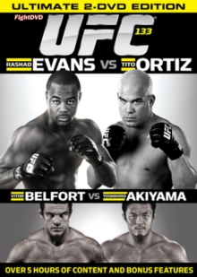Ultimate Fighting Championship: 133 - Evans Vs Ortiz, DVD