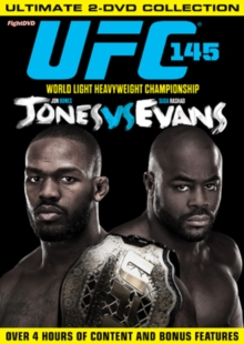 Ultimate Fighting Championship: 145 - Jones Vs Evans, DVD