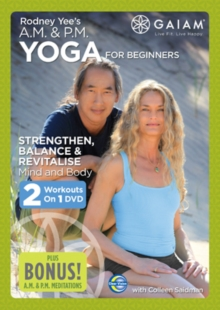 Rodney Yee's AM/PM Yoga for Beginners, DVD