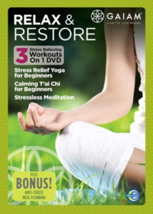 Gaiam: Relax and Restore, DVD