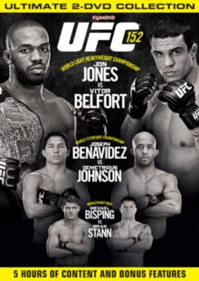 Ultimate Fighting Championship: 152 - Jones Vs Belfort, DVD