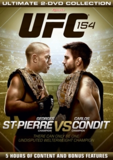 Ultimate Fighting Championship: 154 - St-Pierre Vs Condit, DVD