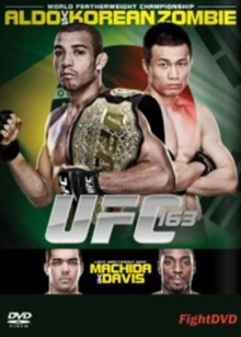 Ultimate Fighting Championship: 163 - Aldo Vs Korean Zombie, DVD