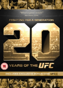 Ultimate Fighting Championship: Fighting for a Generation, DVD