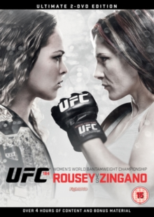 Ultimate Fighting Championship: 184 - Rousey Vs Zingano, DVD