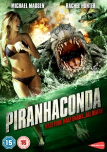 Piranhaconda, DVD