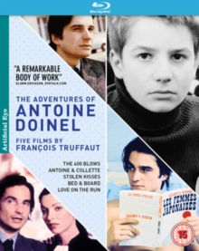 The Adventures of Antoine Doinel: Five Films By François Truffaut, Blu-ray