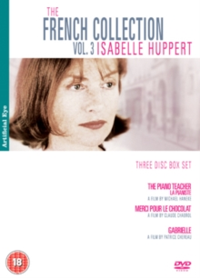 The French Collection: Volume 3 - Isabelle Huppert, DVD