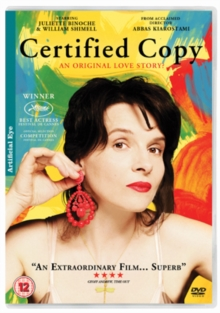 Certified Copy, DVD