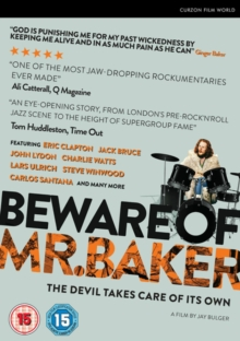 Beware of Mr. Baker, DVD