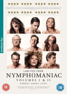 Nymphomaniac: Volumes I and II, DVD