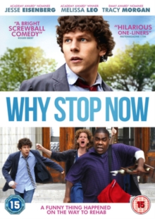 Why Stop Now, DVD