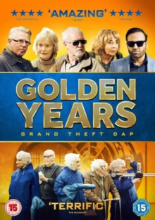Golden Years - Grand Theft OAP, DVD DVD