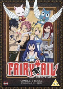 Fairy Tail: The Complete Series, DVD