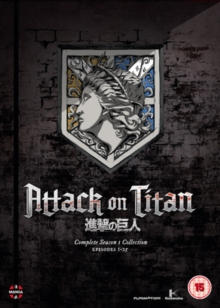 Attack On Titan: Complete Season One Collection, DVD DVD