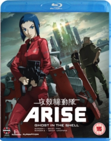 Ghost in the Shell Arise: Borders Parts 1 and 2, Blu-ray