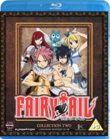 Fairy Tail: Collection 2, Blu-ray