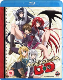 High School DxD: Complete Series Collection, Blu-ray