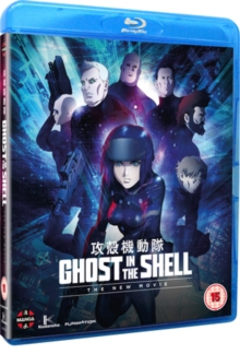 Ghost in the Shell: The New Movie, Blu-ray