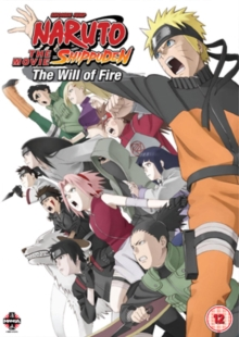 Naruto - Shippuden: The Movie 3 - Will of Fire, DVD