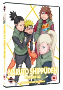 Naruto - Shippuden: Collection - Volume 22, DVD