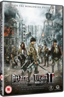Attack On Titan: Part 2 - End of the World, DVD